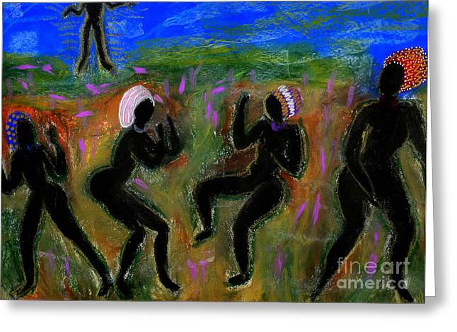 Dancing A Deliverance Prayer Greeting Card