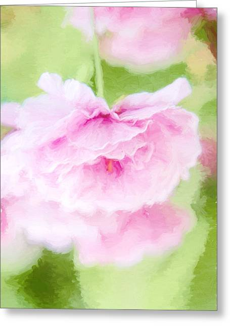 Dancing Blossom Greeting Card by Terry Davis