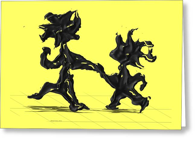Dancing Couple 6 Greeting Card