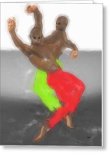 Dancing Samba Greeting Card