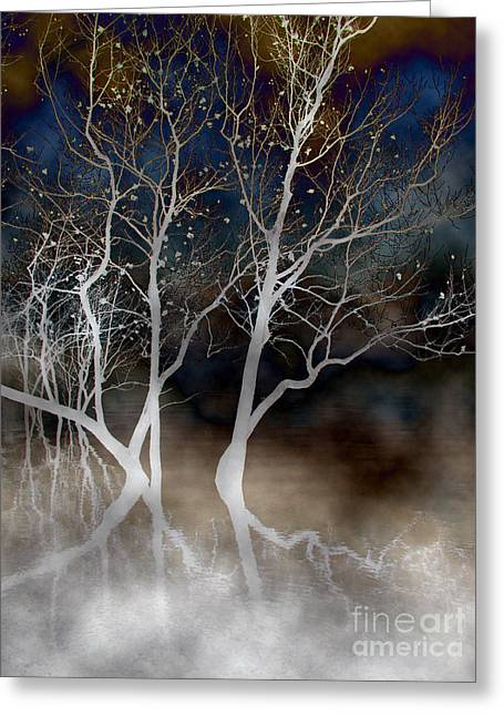 Dancing Tree Altered Greeting Card