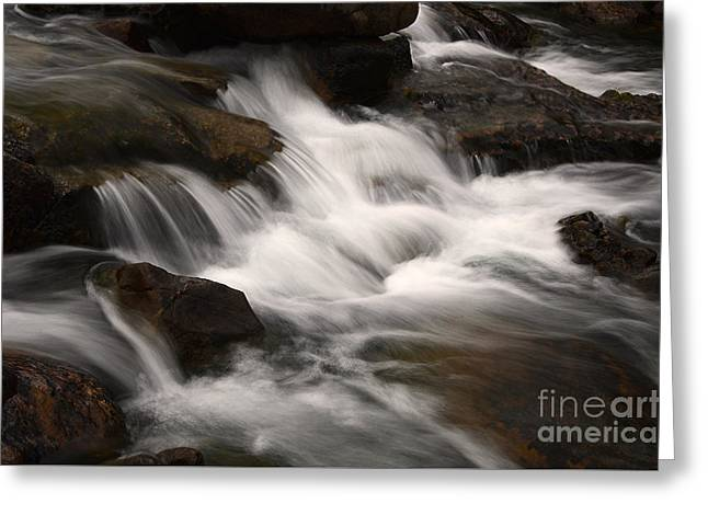 Dancing Waters 4 Greeting Card