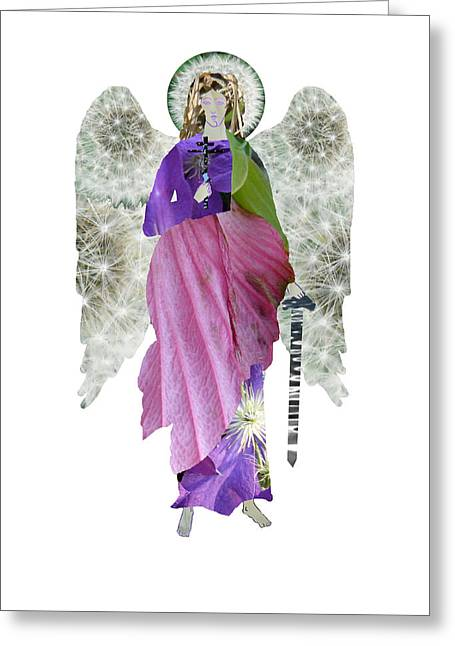 Dandelion Angel Greeting Card