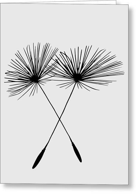 Dandelion Duo  Greeting Card