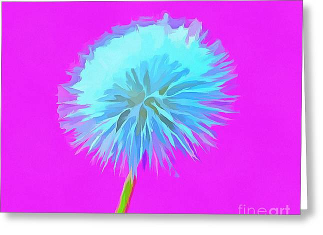 Dandelion Flair Greeting Card