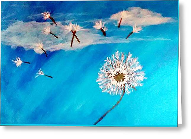 Dandelion Spirit Greeting Card