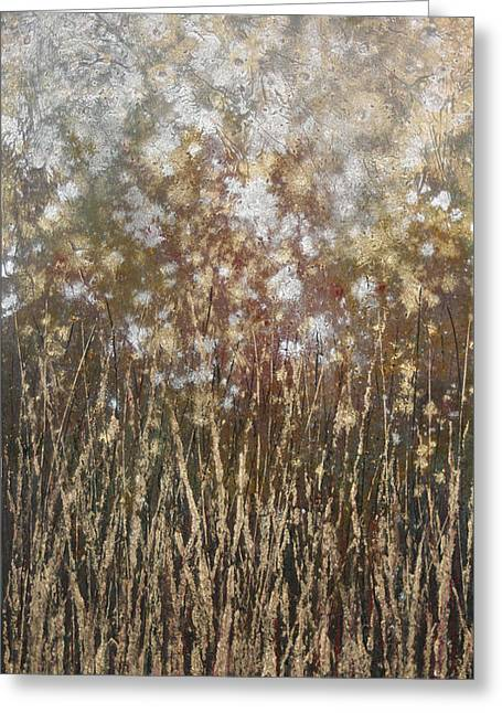 Dandelions Greeting Card by Steve Ellis