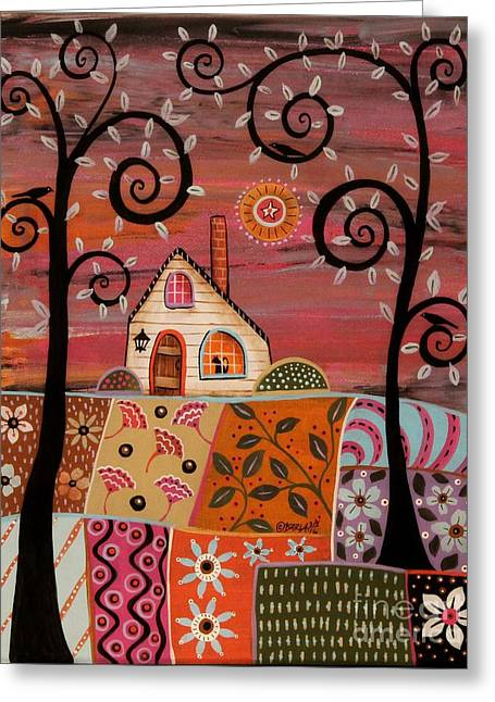 Dandy Landscape Greeting Card