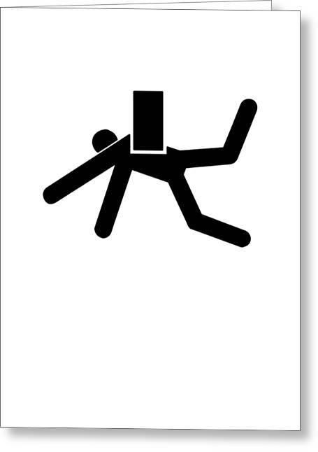Danger Greeting Card by H James Hoff