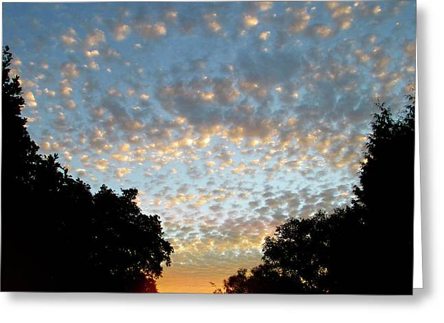 Dappled Sky Greeting Card
