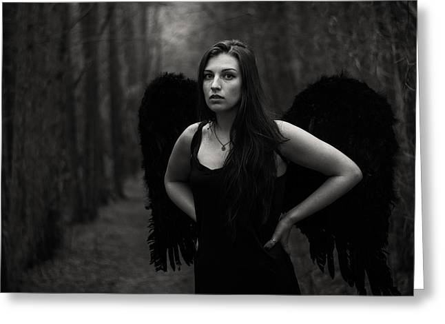 Dark Angel Greeting Card
