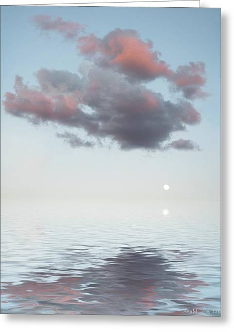 Dark Cloud Greeting Card by Jerry McElroy