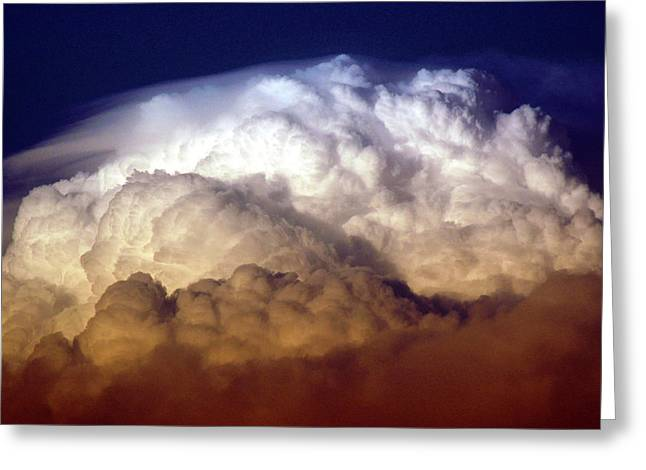 Dark Clouds Greeting Card by Graham Taylor