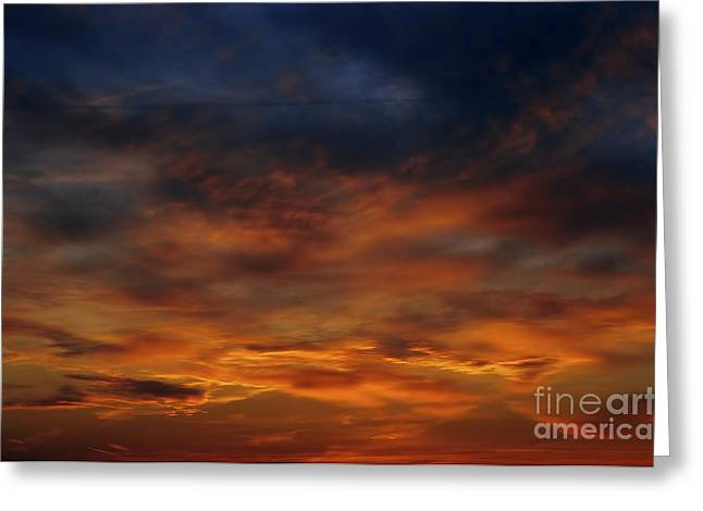 Dark Clouds Greeting Card by Michal Boubin