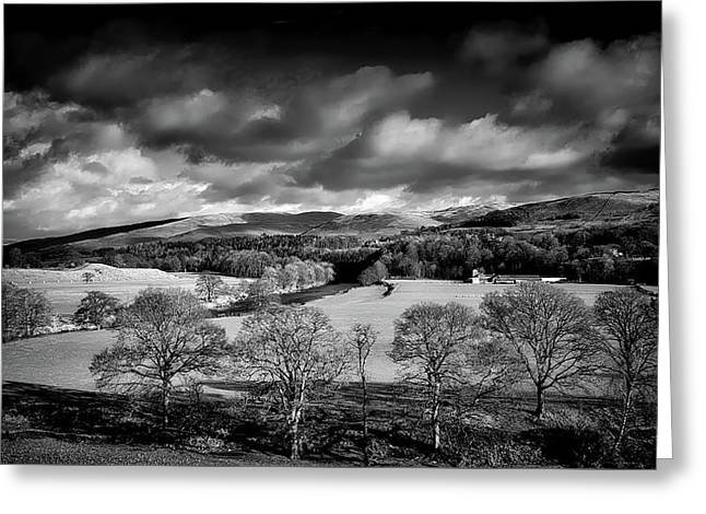 Dark Clouds Over Kirkby Lonsdale Greeting Card by Ian Livesay