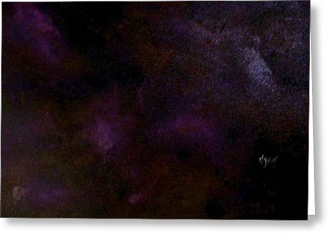 Dark Colors Greeting Card by Guillermo Mason