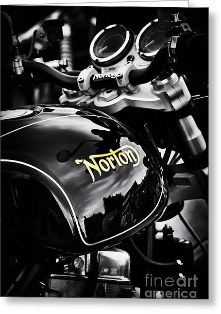Dark Norton Greeting Card