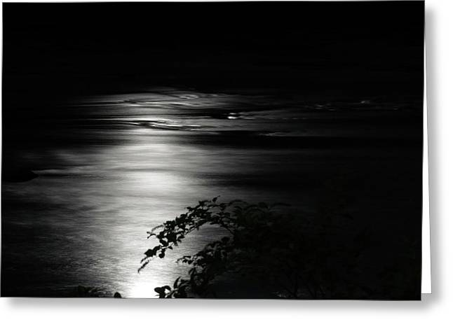 Dark River Greeting Card