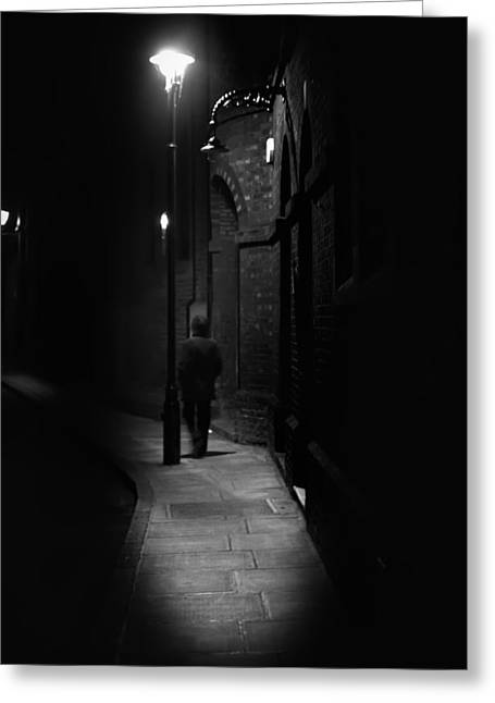 Night Lamp Greeting Cards - Dark Shadows Greeting Card by Cecil Fuselier
