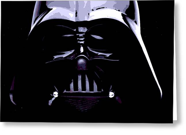 Cult Photos Greeting Cards - Dark Side Greeting Card by George Pedro