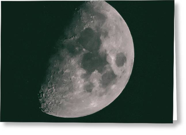 Dark Side Of The Moon Greeting Card