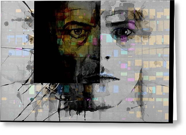 Dark Star Greeting Card by Paul Lovering