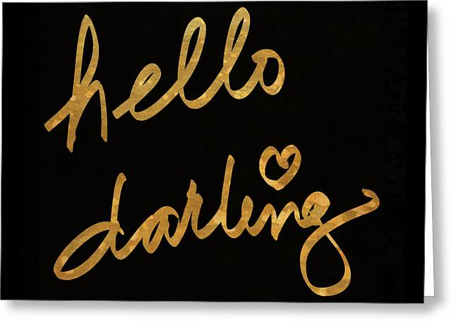 Darling Bella I Greeting Card by South Social Studio