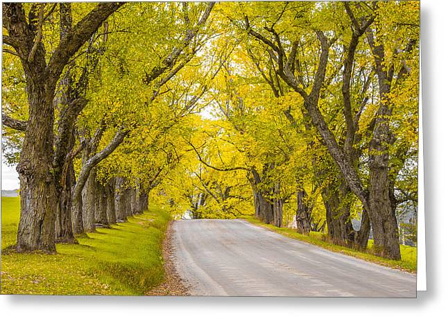 Darling Hill Autumn Greeting Card