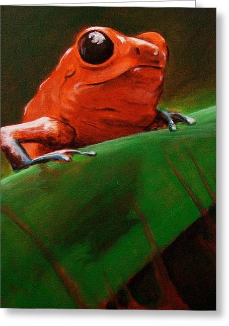 Dart Frog Greeting Card