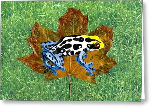 Dart Poison Frog Greeting Card