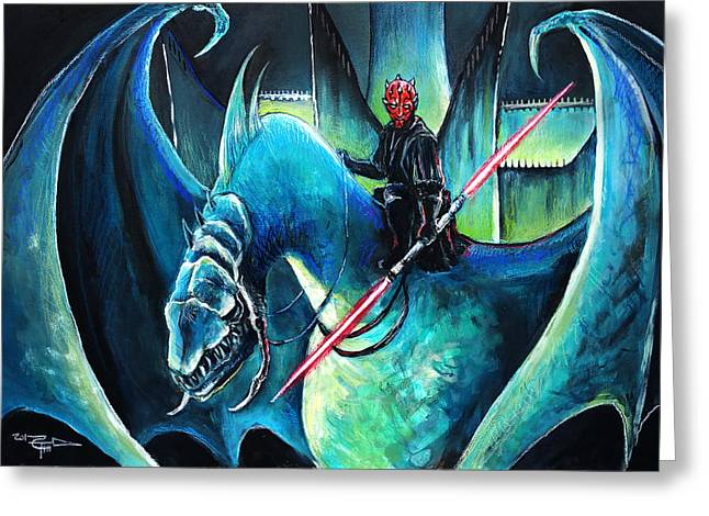 Darth Maul The Witch King Greeting Card