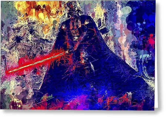 Darth Vader Greeting Card