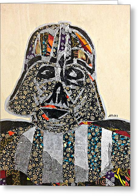 Darth Vader Star Wars Afrofuturist Collection Greeting Card
