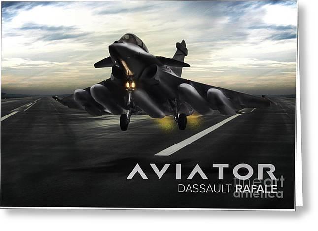 Dasault Rafale Fighter Jet Greeting Card