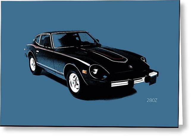 Datsun 280z Greeting Card by Mark Rogan