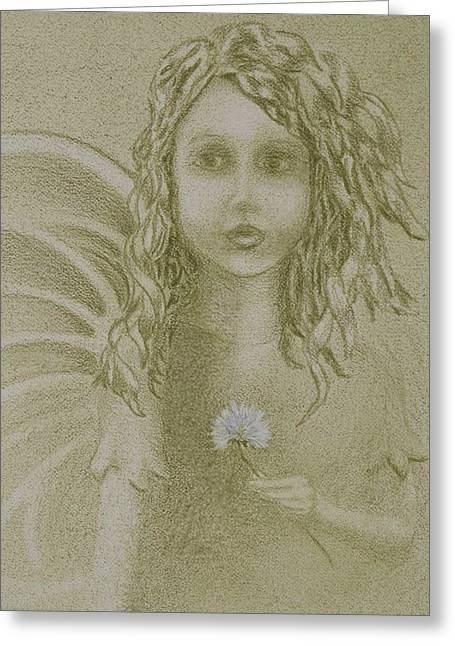 Daughter Of The Wind Greeting Card