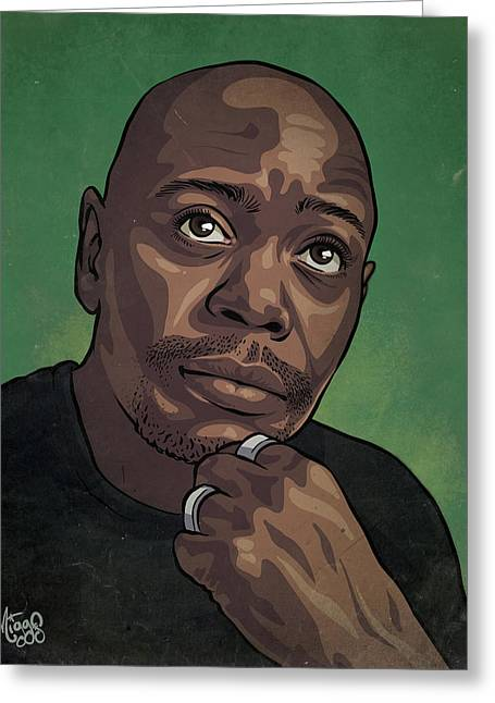 Dave Chappelle Greeting Card