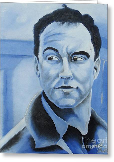 Dave Matthews - Some Devil  Greeting Card by Joseph Palotas