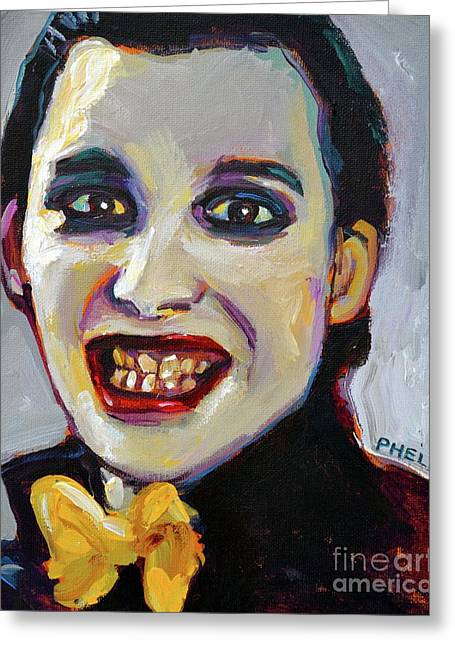 Dave Vanian Of The Damned Greeting Card