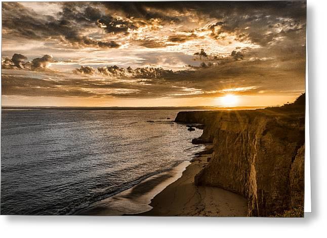 Davenport Cliffs Greeting Card