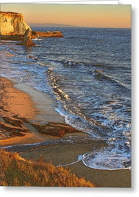 Davenport Sunset J Greeting Card by Larry Darnell