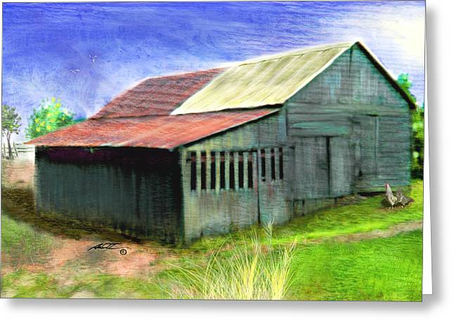 Dave's Barn Greeting Card