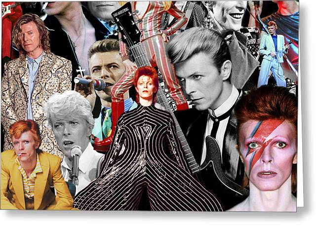 David Bowie 6 Greeting Card