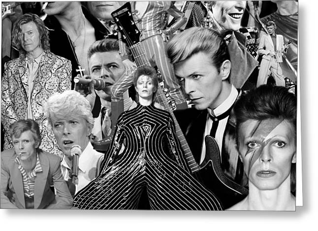 David Bowie 7 Greeting Card