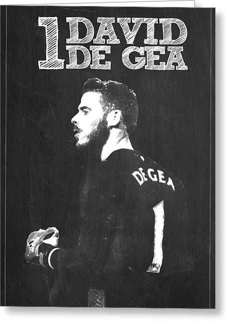 David De Gea Greeting Card