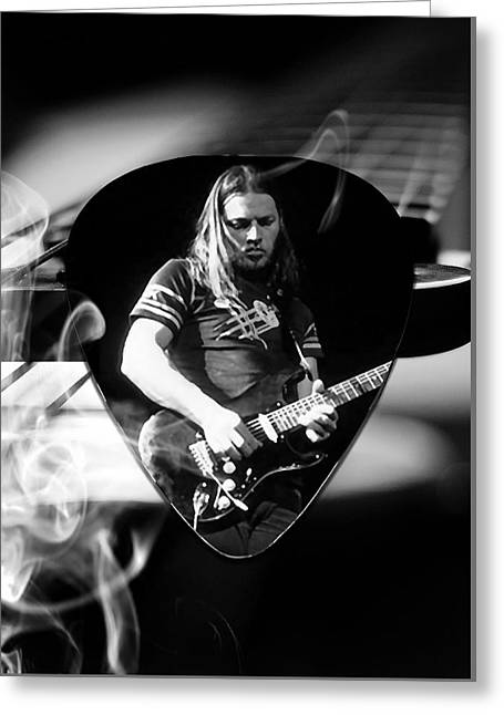 David Gilmour Art Greeting Card by Marvin Blaine