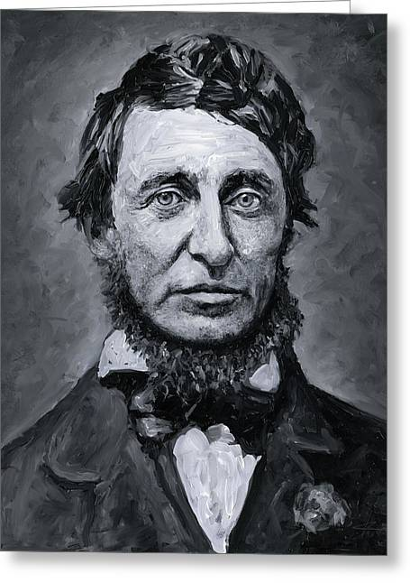 David Henry Thoreau Greeting Card