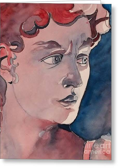 David Greeting Card by Lise PICHE