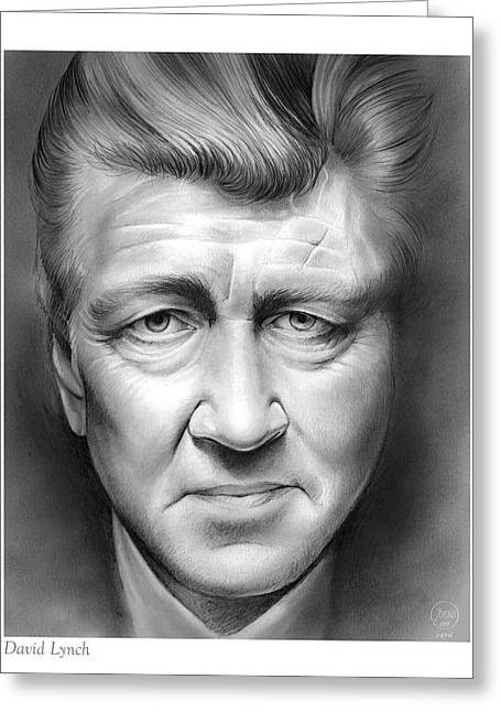 David Lynch Greeting Card