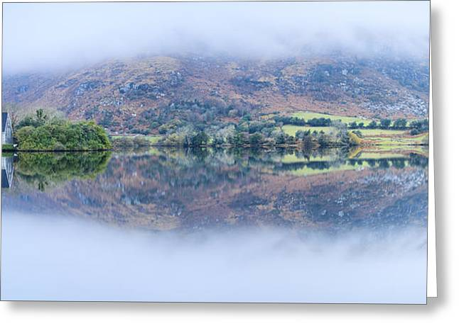 Dawn At Gougane Barra Greeting Card by Graham Daly